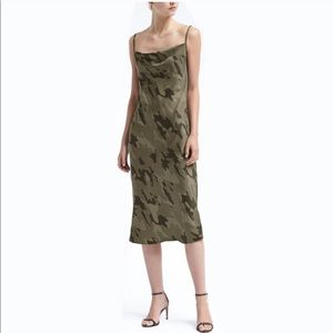 Banana Republic Camo Slip Dress